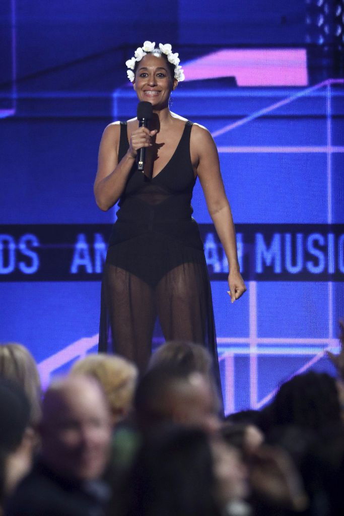 tracee ellis ross hosting the 2017 amas