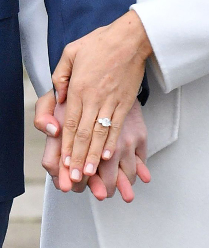 Meghan Markle engagement ring, prince harry