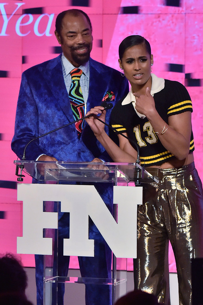 Walt Frazier, Skylar Diggins-Smith, 2017 FNAAs