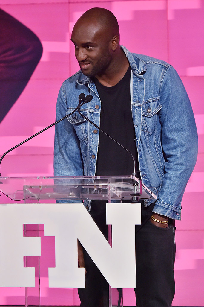 [Virgil Abloh] 2017 Footwear News Achievement Awards