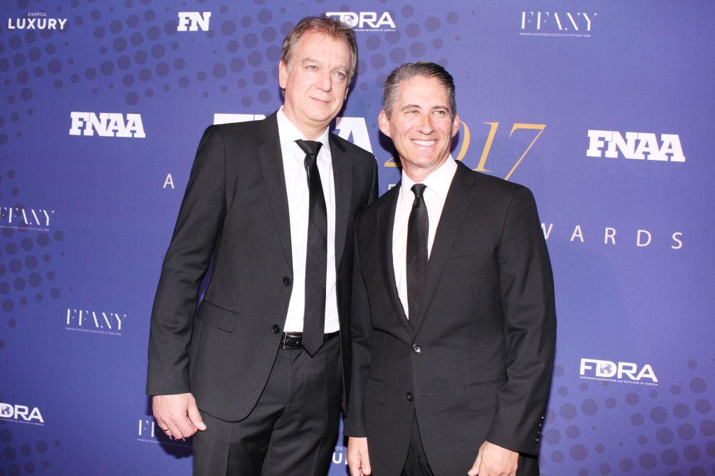 [Markus Bensberg and David Kahan] 2017 Footwear News Achievement Awards