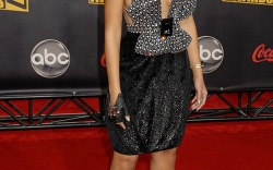 Celebrities at the AMAs in 2007