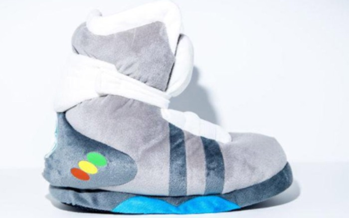 Nike Air Mag slippers from Banned Goods