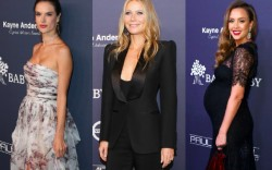 Alessandra Ambrosio, Gwyneth Paltrow and Jessica