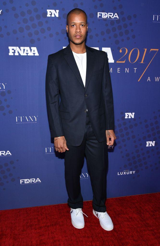 Heron Preston31st Annual Footwear News Achievement Awards, Arrivals, New York, USA - 28 Nov 2017