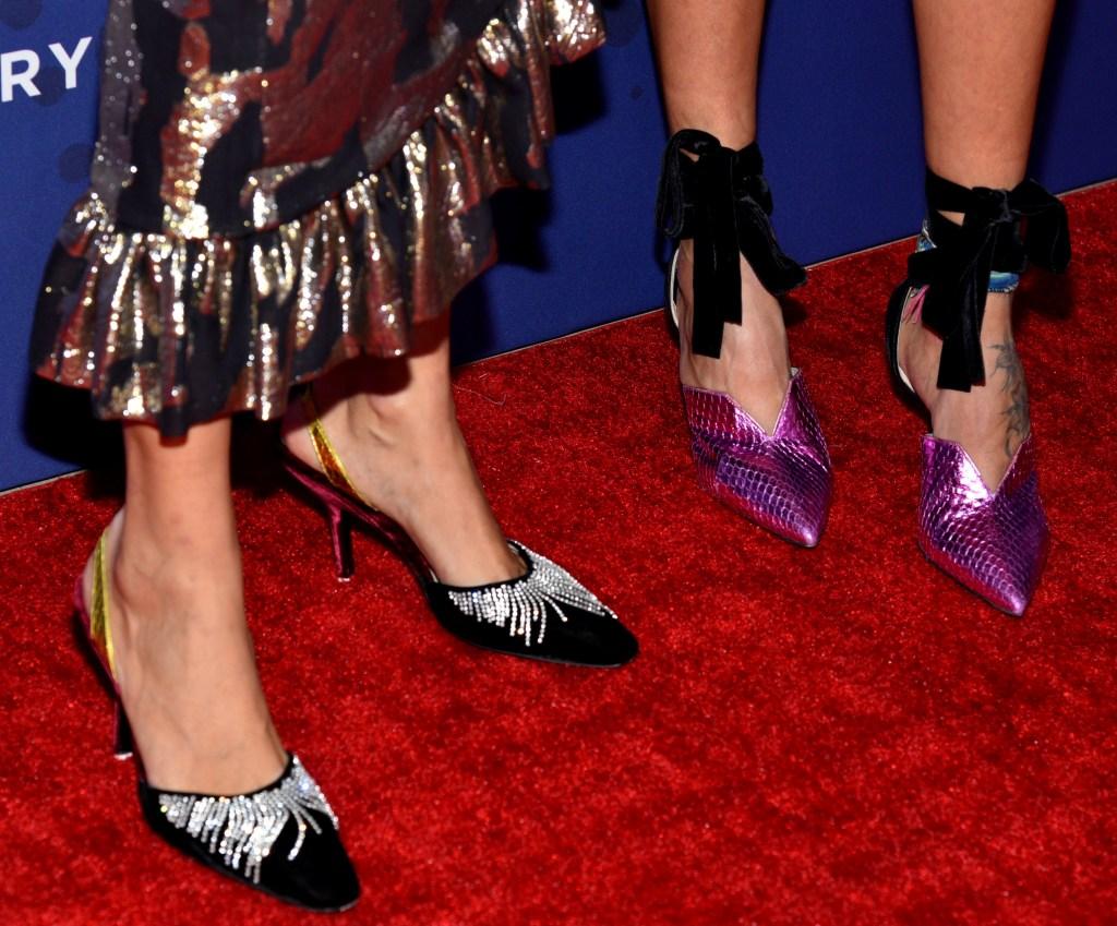 Giorgia Tordini, Gilda Ambrosio31st Annual Footwear News Achievement Awards, Arrivals, New York, USA - 28 Nov 2017