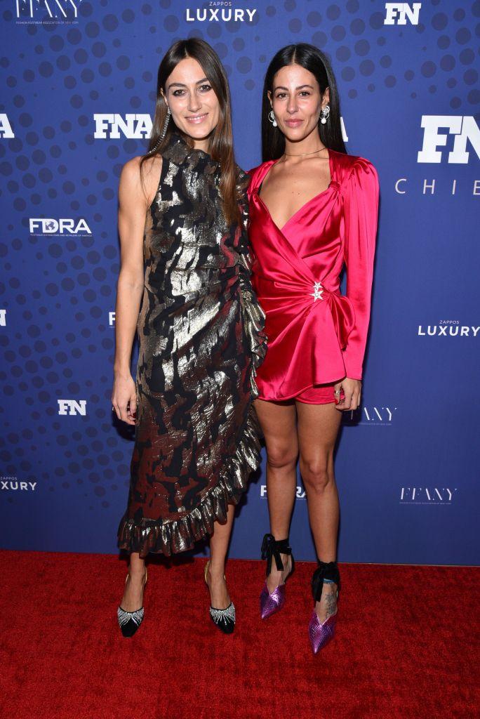 Giorgia Tordini and Gilda Ambrosio31st Annual Footwear News Achievement Awards, Arrivals, New York, USA - 28 Nov 2017