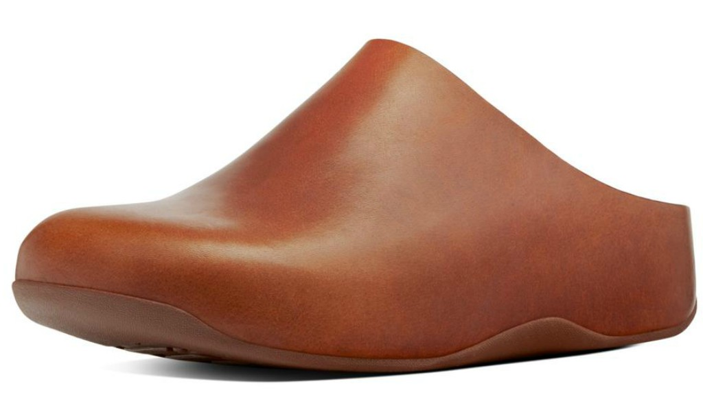 shuv leather clogs