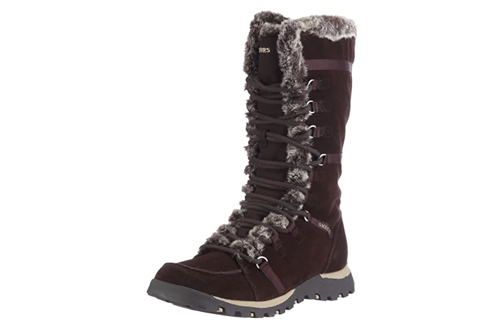 skechers boots, best winter boots for women, womens winter boots