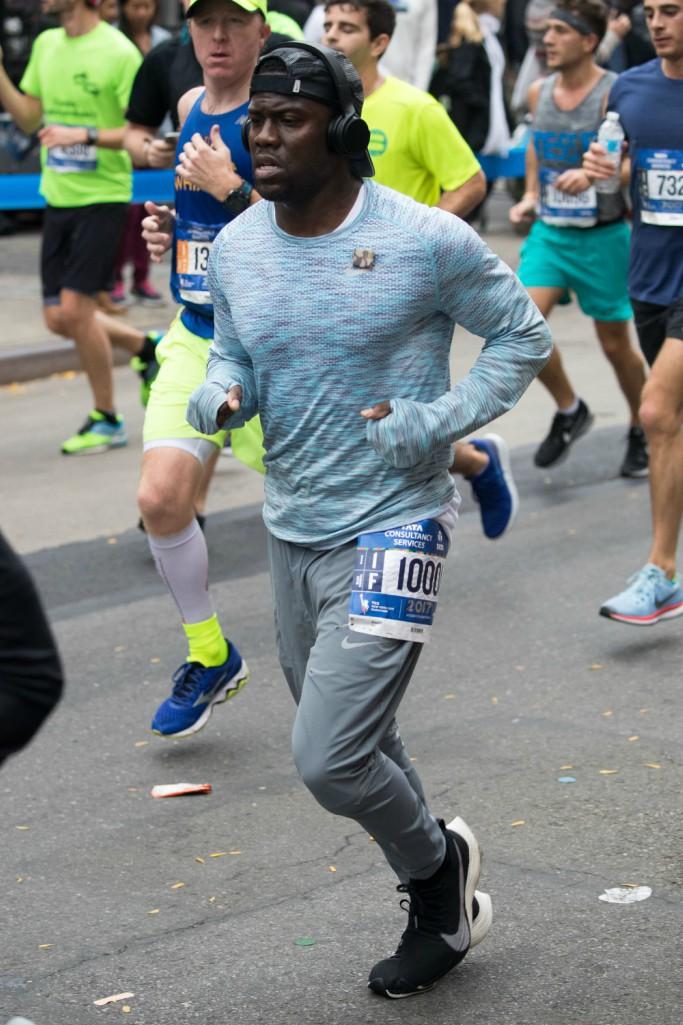 kevin hart, nike, nyc marathon