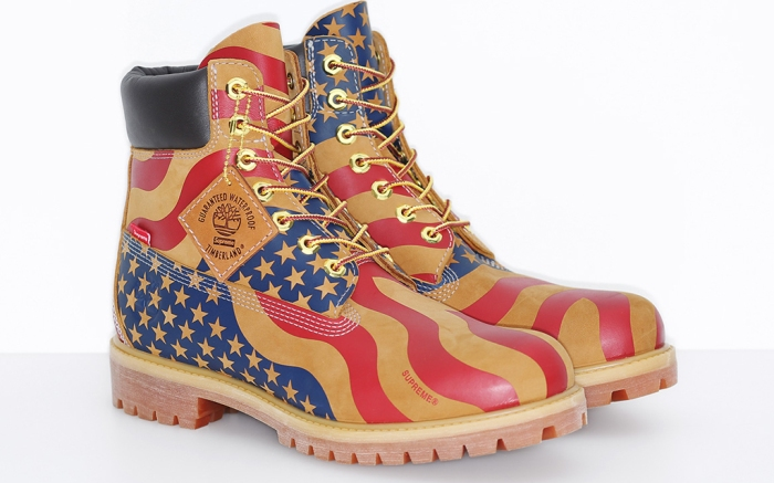 arrebatar Robusto pétalo  How to Get the Supreme Timberland Limited-Edition 'USA' Boots – Footwear  News