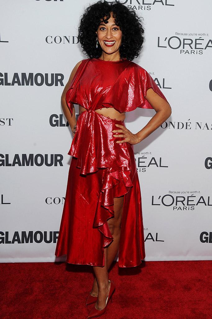 tracee ellis ross, glamour, women of the year awards, jimmy choo, prabal gurung