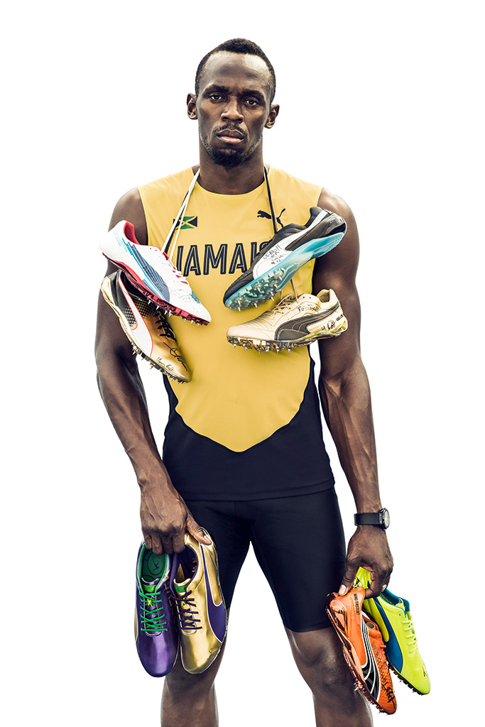 Usain Bolt, puma, marketer of the year, footwear news, achievement awards