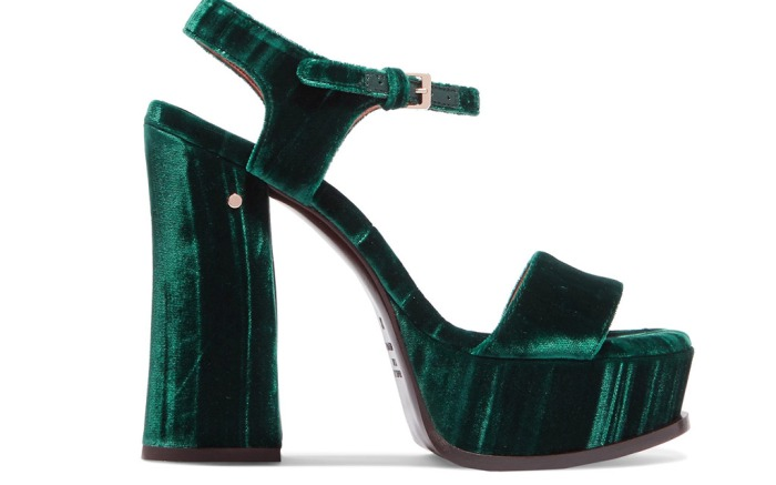 Laurence Dacade Velvet Shoes