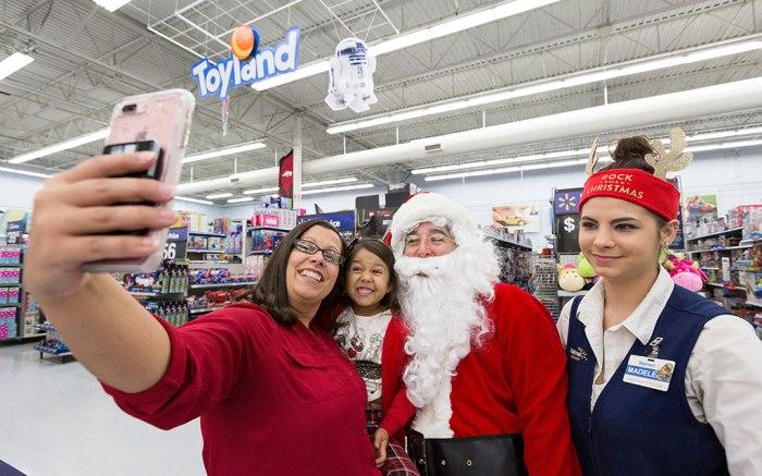 walmart holiday sales