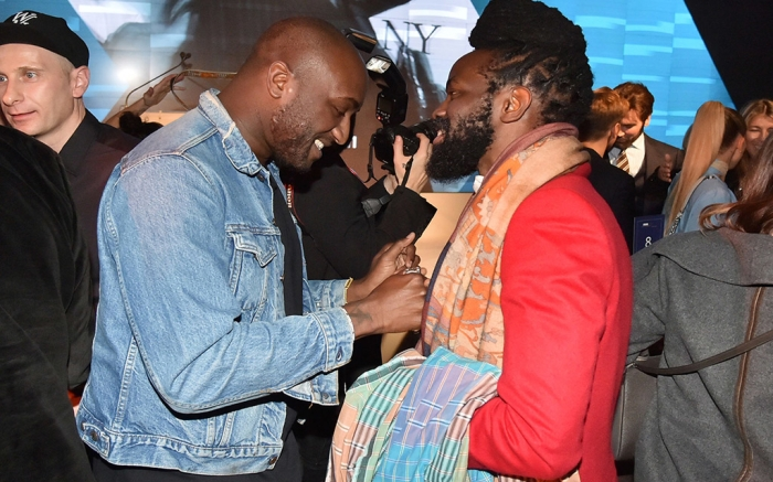 Virgil Abloh and Roy Luwolt