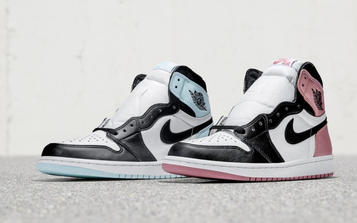 """The Air Jordan 1 """"Igloo"""" and """"Rust Pink"""" will be released during the Miami arts festival, Art Basel during Dec. 7-10."""