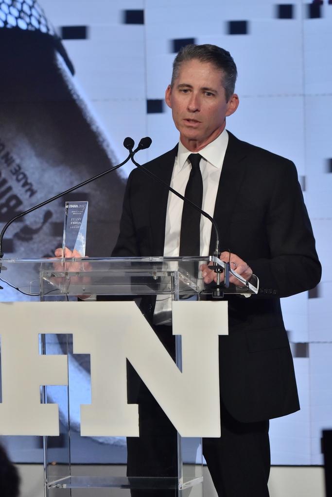 [David Kahan] 2017 Footwear News Achievement Awards