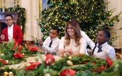 White House Christmas Tree: First Lady