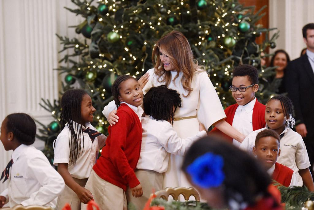 Melania Trump, white house christmas decorations