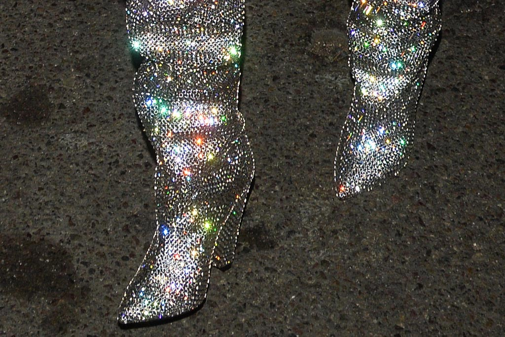 YSL Sparkle Boots: Celebrity Fans
