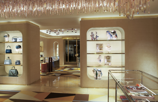 Fendi flagship on London's Sloane Street.