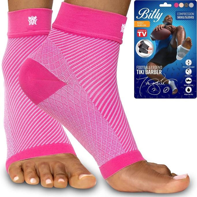 Bitly Plantar Fasciitis Compression Socks
