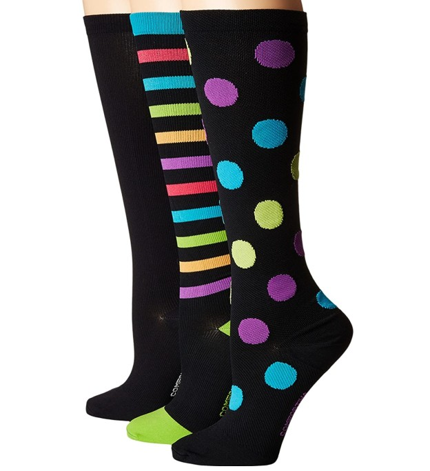Comfortiva Compression Socks 3-Pac