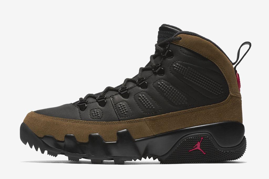 Air Jordan 9 Boot NRG Sneaker Release