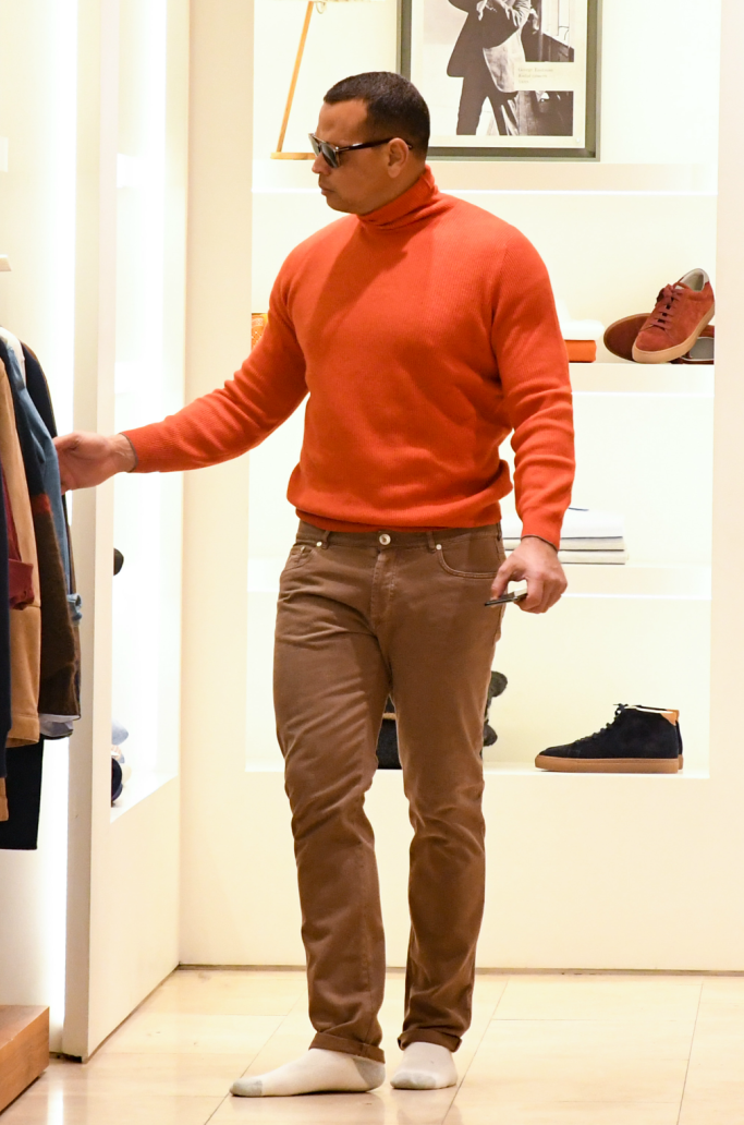Alex Rodriguez, tom ford, shopping