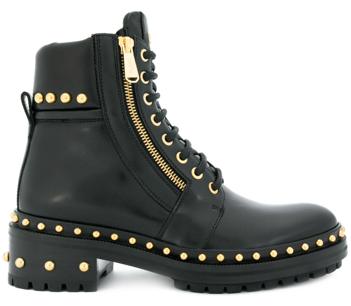 Army Ranger studded boots