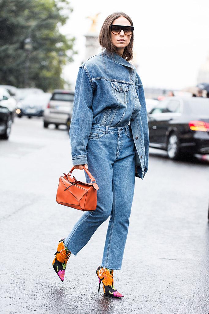 best street style 2017, balenciaga knife boots, Erika Boldrin, paris fashion week, spring '18 shows