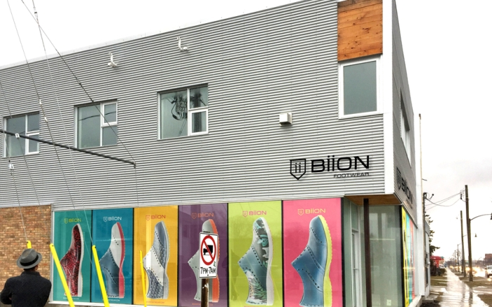 Biiion store exterior Canada