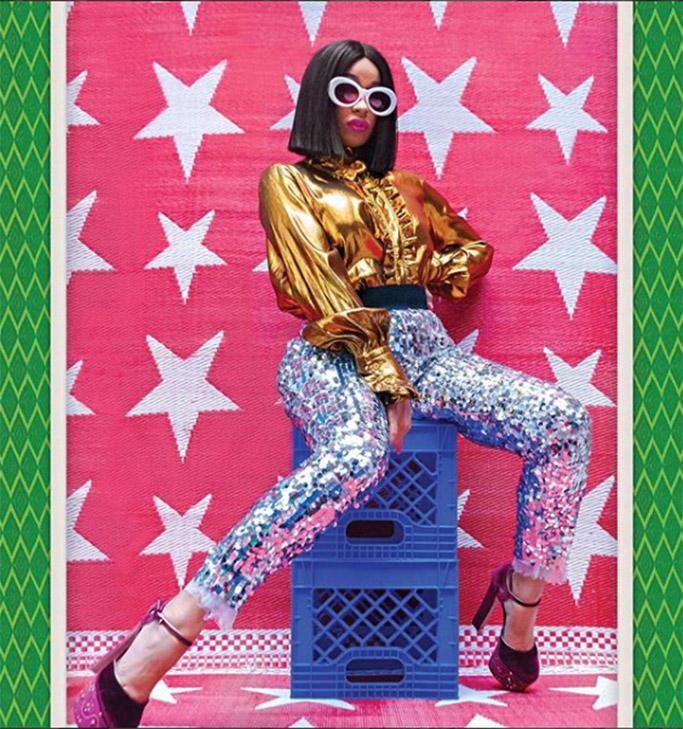 cardi b, new york magazine cover, best looks 2017