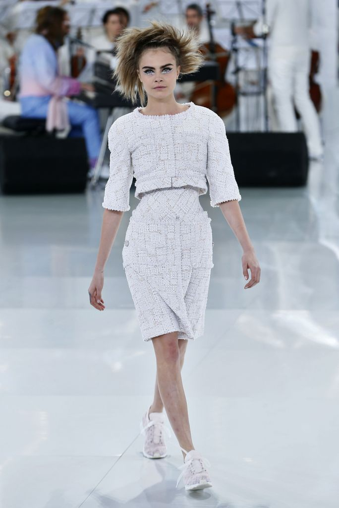 Chanel Couture Spring 2013 Sneakers Cara Delevingne