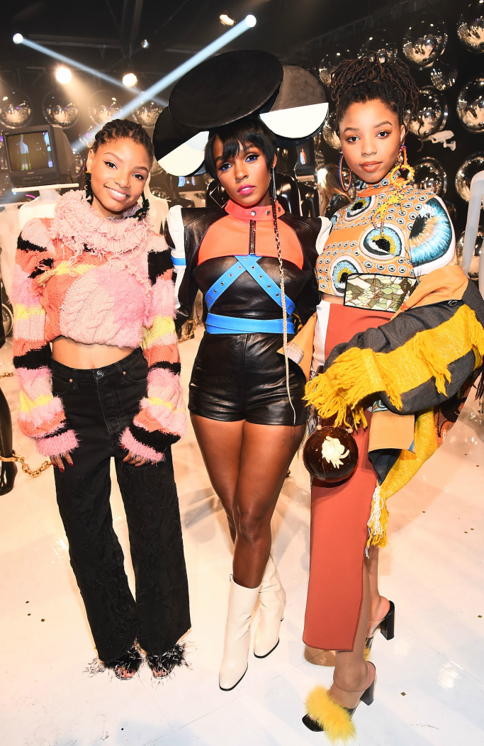 Chloe and Halle Bailey, janelle monae, 29rooms