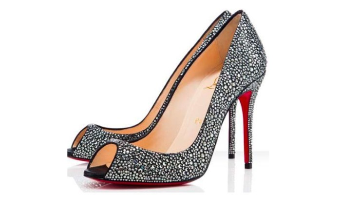 Sparkly Christian Louboutin Shoes to Rent