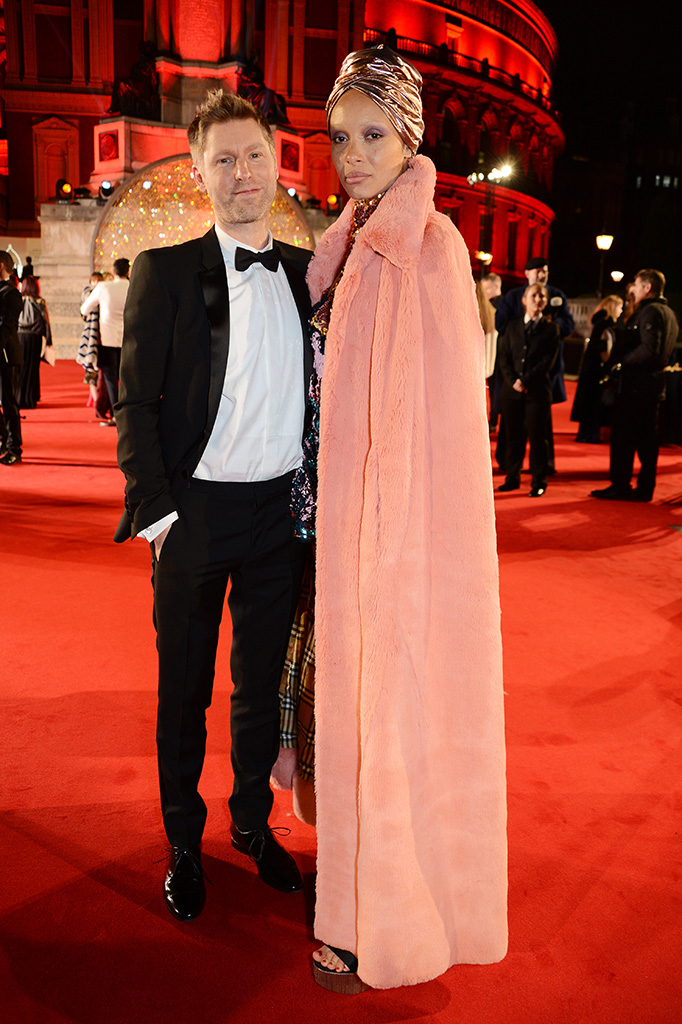 Christopher Bailey and Adwoa AboahThe British Fashion Awards, Arrivals, Royal Albert Hall, London, UK - 04 Dec 2017 The Fashion Awards in partnership with Swarovski recognise creativity and innovation in fashion. The Fashion Awards celebrate exceptional individuals whose imagination and creativity have broken new ground in fashion globally over the past 12 months and brands and businesses that have transformed the possibilities of fashion today