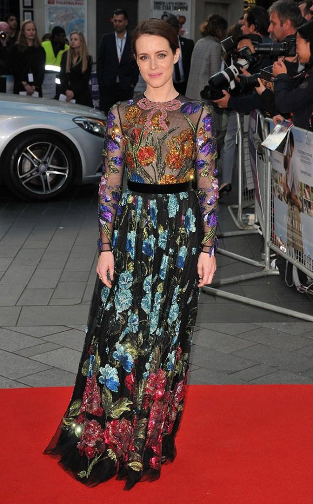 Claire Foy Breathe London film premiere