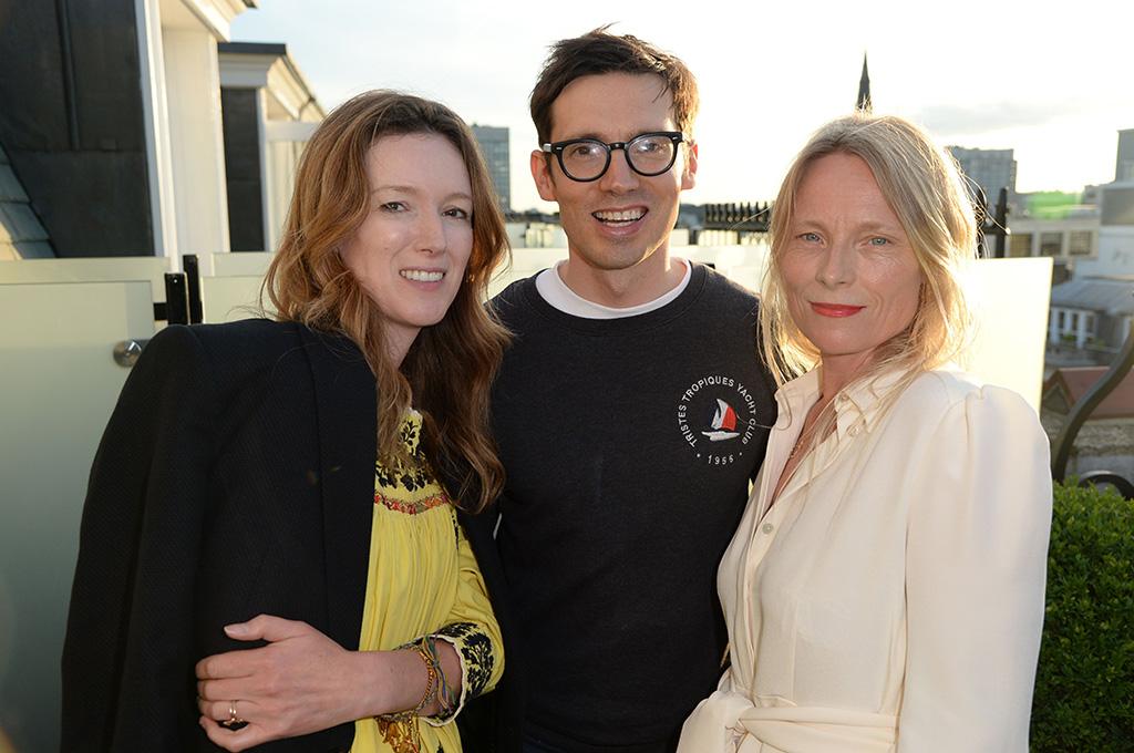 Claire Waight Keller, Erdem Moralioglu and Luella BartleyThe London Edition Summer Solstice Dinner, London, UK - 20 Jun 2016