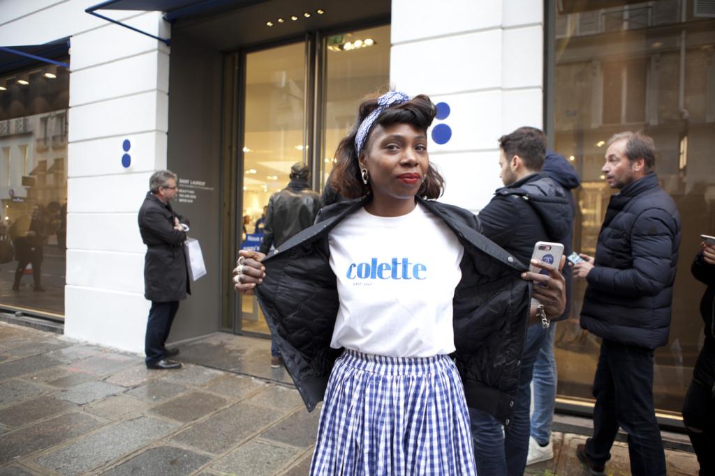 Colette's community manager Sandrine Tonye.