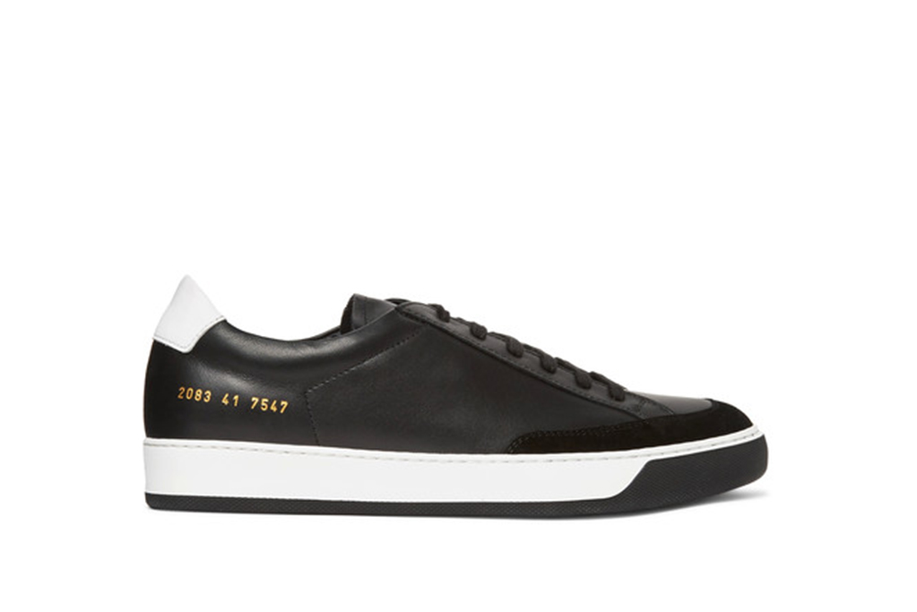 common projects, tennis pro sneakers