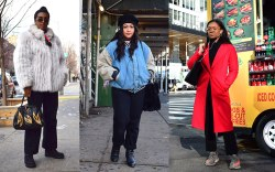 new york, commuter, street style