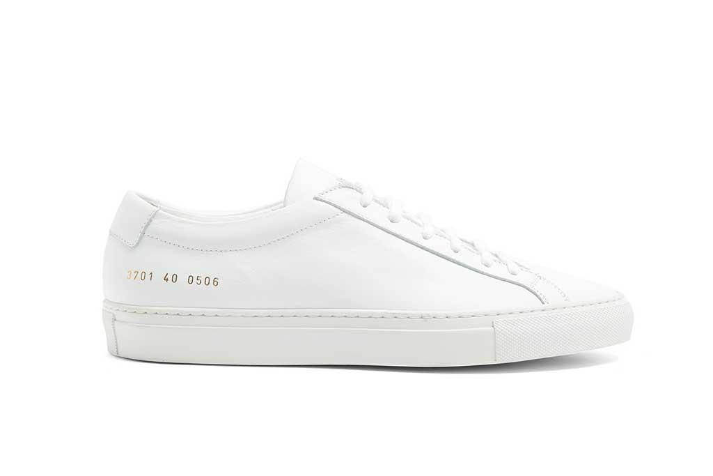 Comon Projects white sneaker