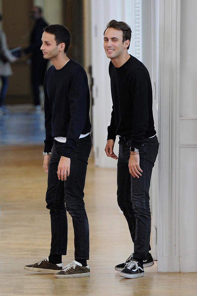 Sebastien Meyer and Arnaud Vaillant on the catwalkCourreges show, Runway, Spring Summer 2017, Paris Fashion Week, France - 28 Sep 2016