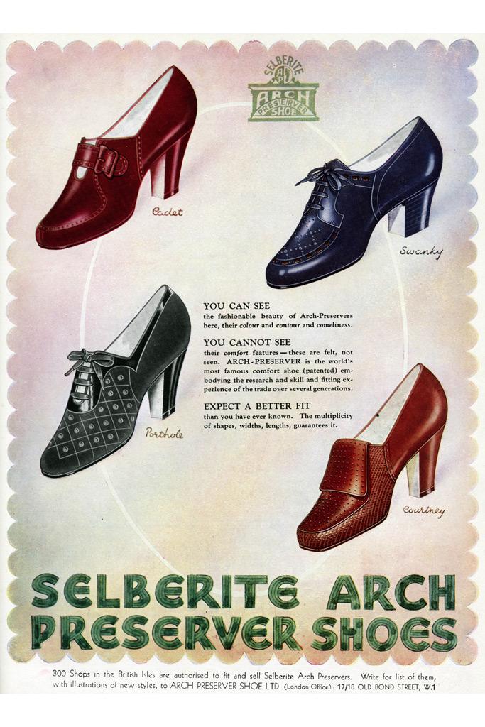 Selberite Arch Preserver Shoes , ad , women's