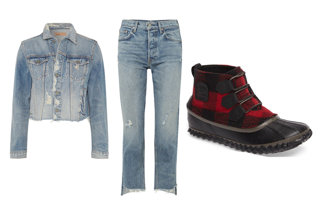 Duck Boot Outfit Ideas