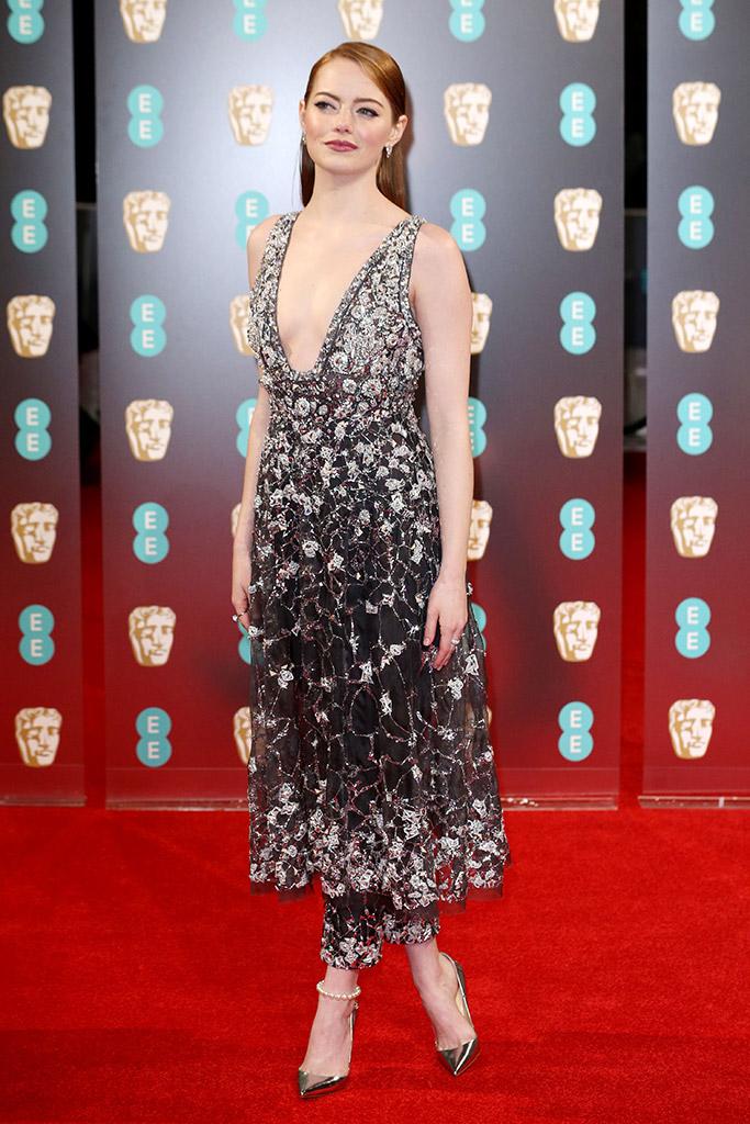 Emma Stone Bafta 2017
