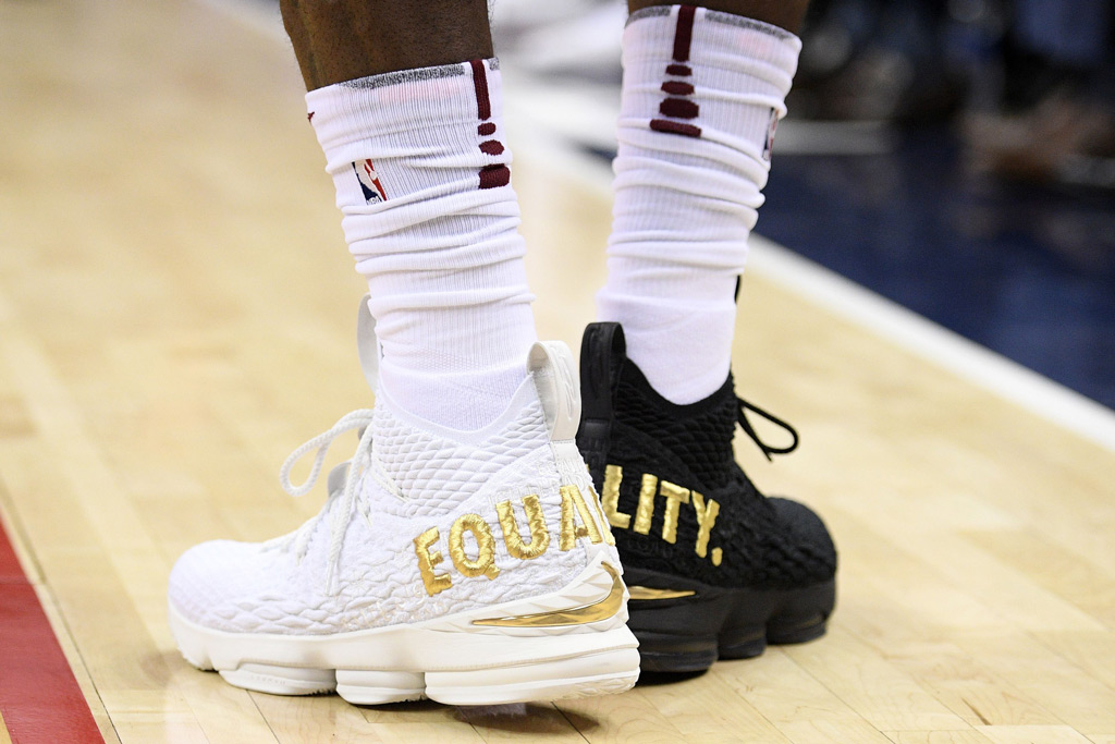LeBron James Sports 'Equality' Sneakers