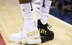 LeBron James, Equality sneakers